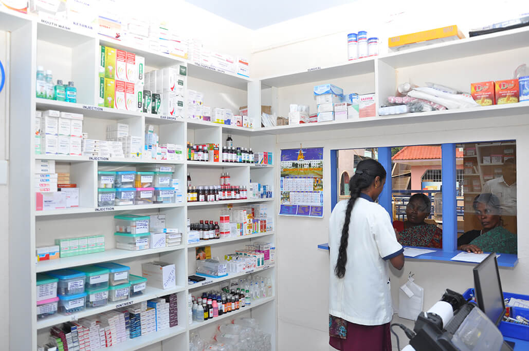 Pharmacy - Mother Teresa Health Centre