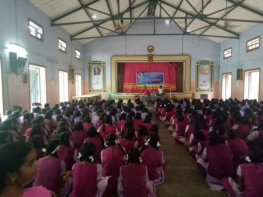 Workshop on moral Ethics at Girls Christian Hr.Sec.School, Thanjavur